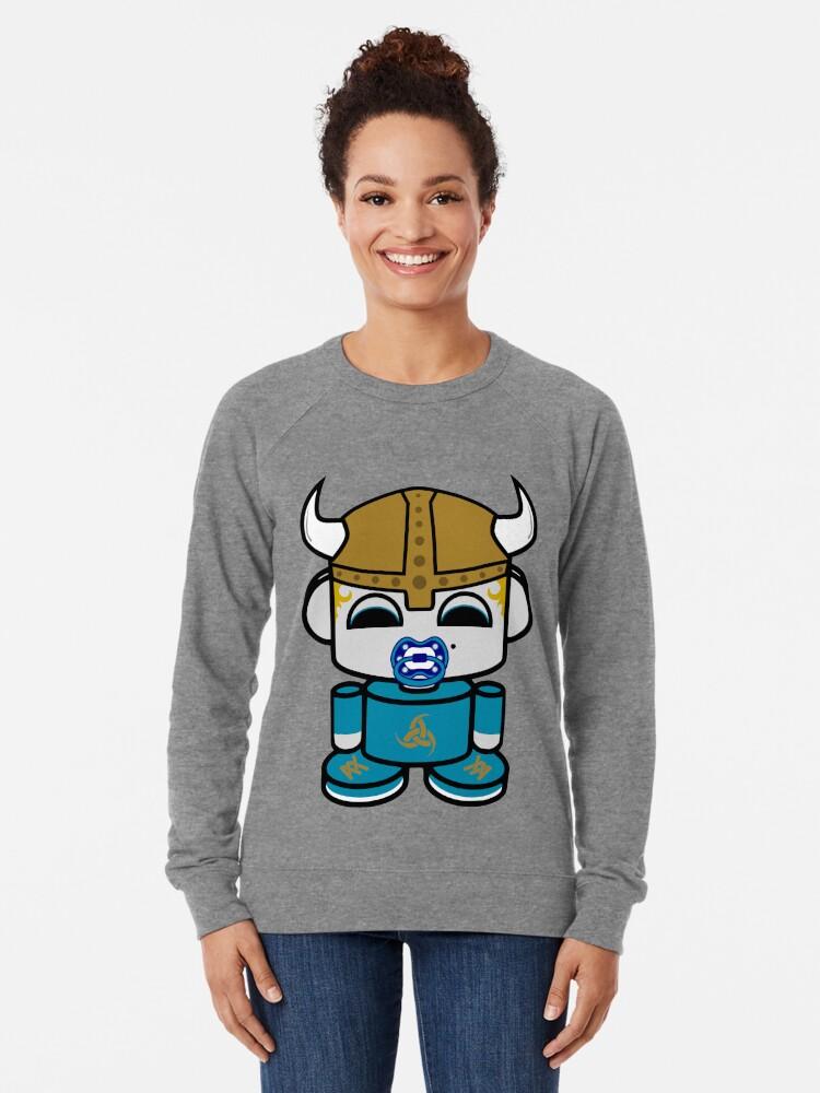 Alternate view of Odin O'BABYBOT Toy Robot 1.0 Lightweight Sweatshirt