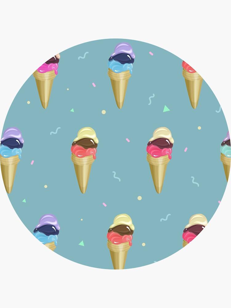 Ice Cream Pattern by mirunasfia