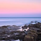Sunset at Kingsbarns Beach by Tim Haynes