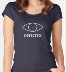 Detected skyrim Women's Fitted Scoop T-Shirt
