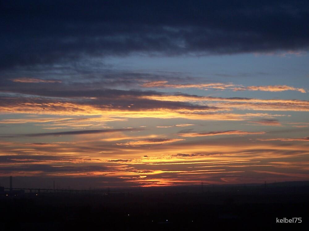 sunrise from my window by kelbel75