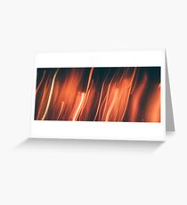 Who by Fire Greeting Card