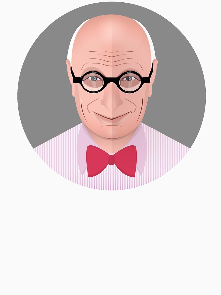 Portrait of Wally Olins by mirunasfia