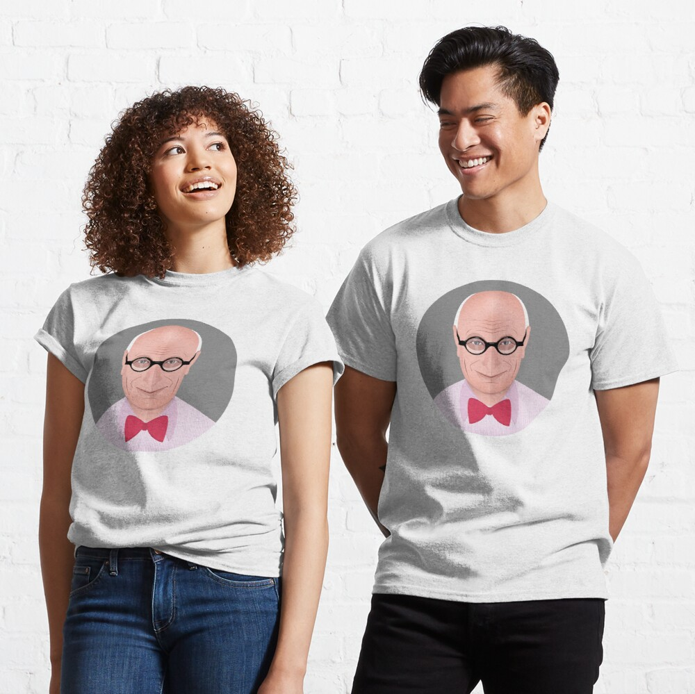Portrait of Wally Olins Classic T-Shirt