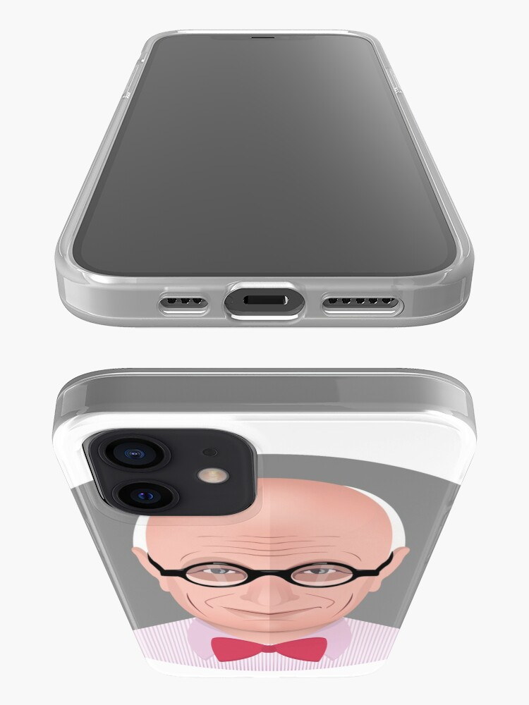 Alternate view of Portrait of Wally Olins iPhone Case & Cover