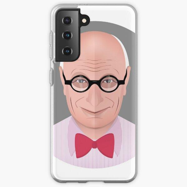 Portrait of Wally Olins Samsung Galaxy Soft Case