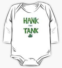 HANK the TANK One Piece - Long Sleeve