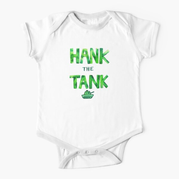 HANK the TANK Short Sleeve Baby One-Piece