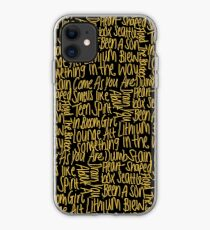 Sounds City Dave Grohl Foo Fighters iphone case
