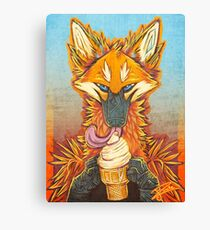 Ice Cream King Canvas Print
