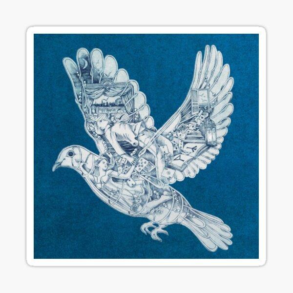 ESTHÉTIQUE OISEAU COLDPLAY ARTISTIQUE Sticker