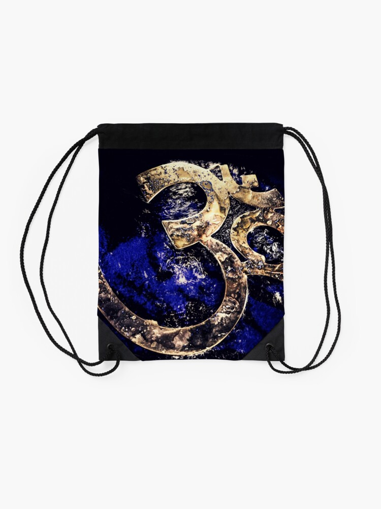 Alternate view of Universal Frequency Drawstring Bag