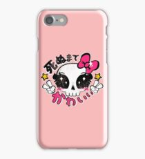 Kawaii Till Die iPhone Case/Skin