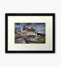 Cliff Railway - Bridgnorth, England Framed Print
