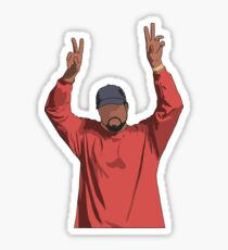 Kanye Peace Sticker