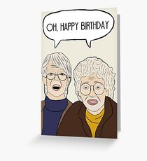 Oh, Happy Birthday Greeting Card