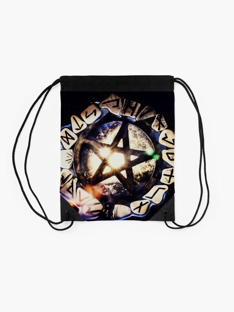 Alternate view of Love & Light Drawstring Bag