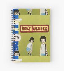 Tina + Bob's Burgers Spiral Notebook