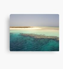 Hamata Islands Egypt Canvas Print