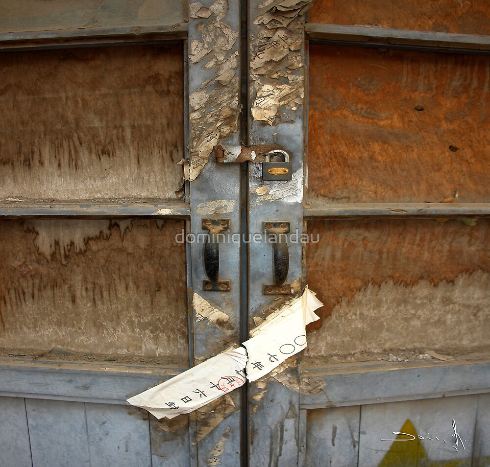 chinese door 1 by dominiquelandau
