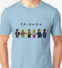 friends parody lego Unisex T-Shirt
