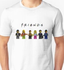 friends parody lego Unisex T-Shirt