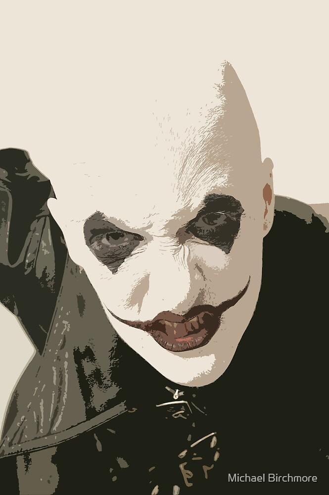 Horror clown by Michael Birchmore