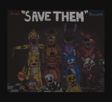 "Five Nights at Freddy's ""Save Them"" 