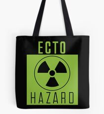 Ghostbusters Warning: Ecto Hazard Tote Bag