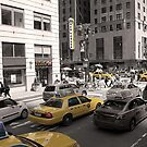 Yellow Cabs of New York by Adriana Zoon