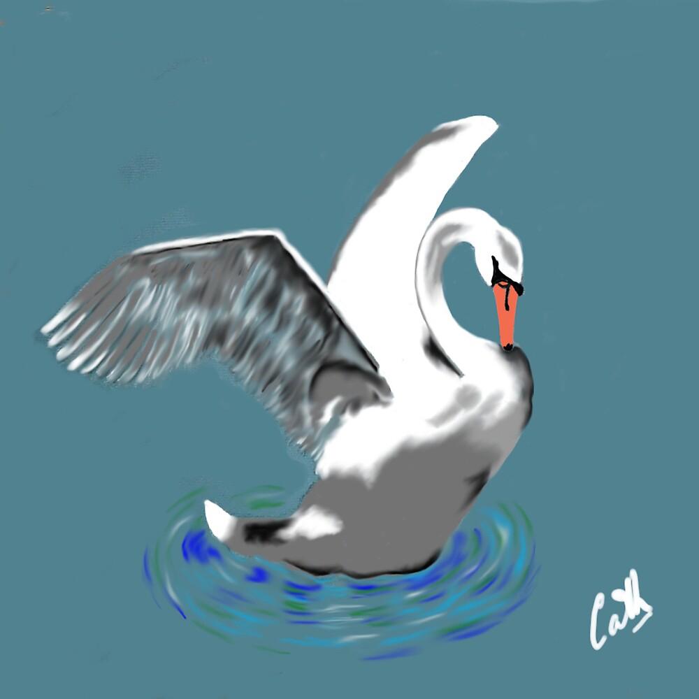 Swan by Catherine Brock