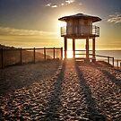 Cronulla Beach Lifeguard Tower by shireshirts