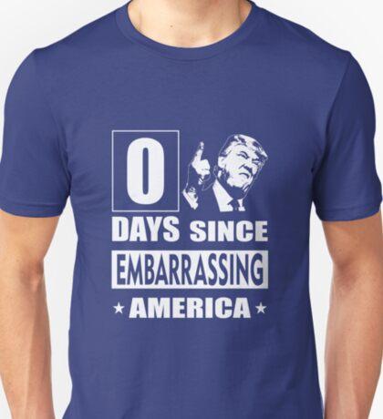 trump embarrassing america T-Shirt