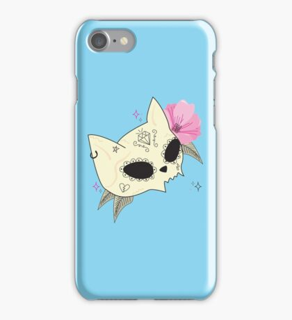 Cat Skull Vanitas iPhone Case/Skin