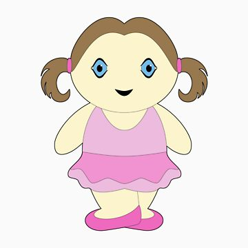 Chubby Ballerina by takASHIkat