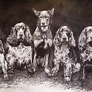 pencil sketch by Nathan Howell