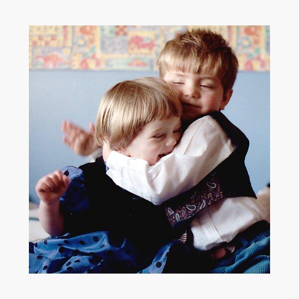 The Hug Photographic Print