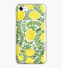 The Fresh Lemon iPhone Case/Skin