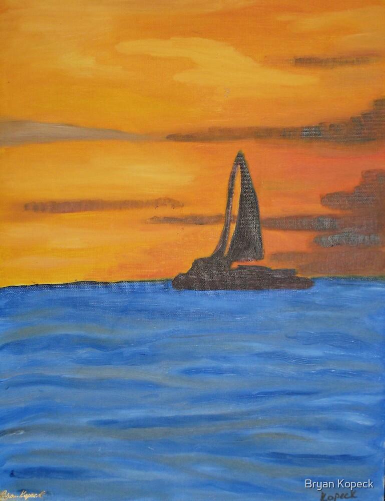 Sailing Away by Bryan Kopeck