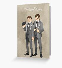 Bones the return of archons Greeting Card