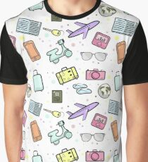 travel pattern Graphic T-Shirt