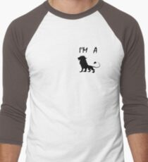 i am a lion Men's Baseball ¾ T-Shirt