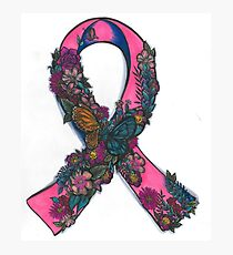 thyroid Cancer Ribbon Photographic Print