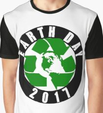 Earth Day Recycle 2017 Graphic T-Shirt