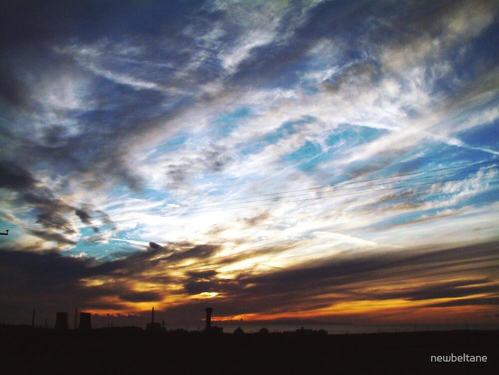 Sellafield Cloudscape by newbeltane