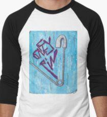 Safety Pin Men's Baseball ¾ T-Shirt