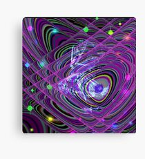 Dancing To The Stars Canvas Print