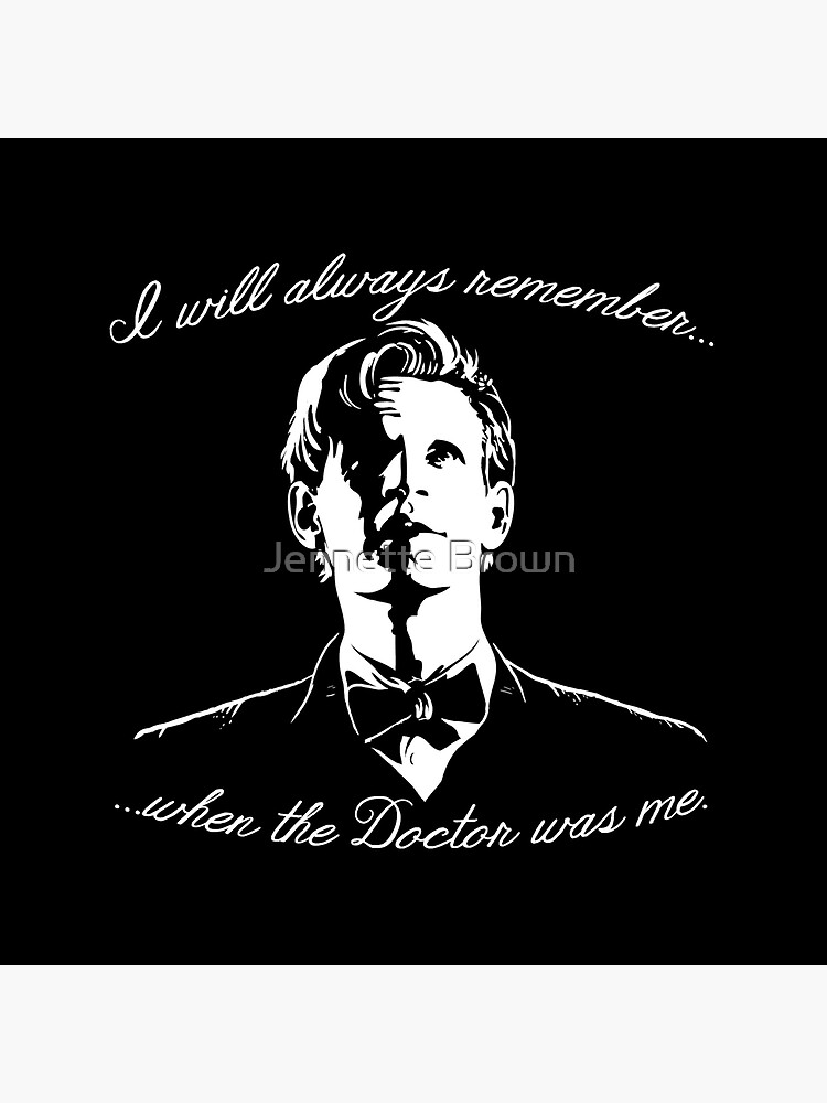 Eleventh Doctor - I will always remember... by sugarpoultry