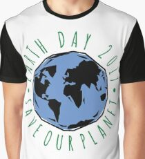 Save Our Planet Earth 2017 Graphic T-Shirt