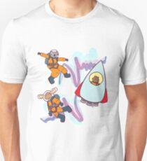 Astronaut Animals Unisex T-Shirt